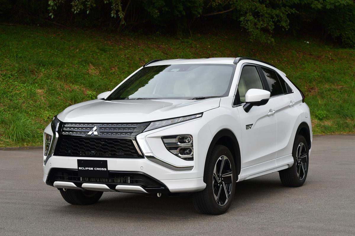 Firma Mitsubishi Motors Corporation (MMC) zaprezentowała właśnie odnowiony model SUVa Eclipse Cross. Model ten będzie w Europie oferowany z hybrydowym układem napędowym plug-in (PHEV). Fot. Mitsubishi
