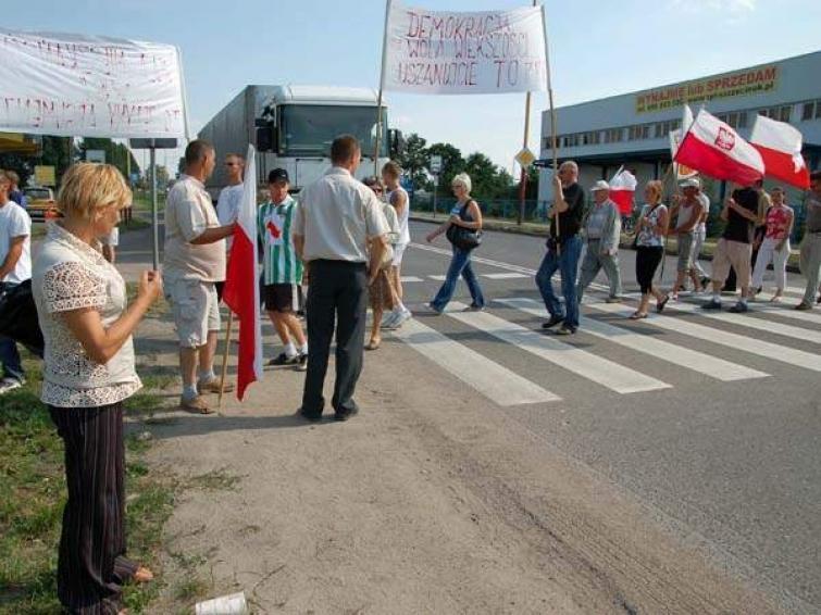 Uwaga kierowcy! W sobotę w Szczecinku objazdy w czasie blokady Terry