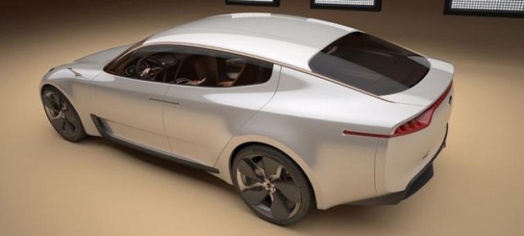 Nowa Kia to czterodrzwiowe coupe jak Mercedes CLS - zdjęcia