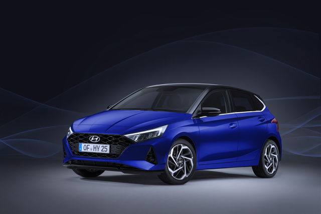 Hyundai i20   To już trzecia generacja Hyundaia i20, który po raz pierwszy został pokazany w roku 2008. Nowa odsłona auta segmentu B będzie produkowana w Europie, w fabryce Hyundaia zlokalizowanej w Izmir w Turcji i zostanie pokazany po raz pierwszy podczas Międzynarodowego Salonu Samochodowego w Genewie, w marcu 2020 roku.  Fot. Hyundai