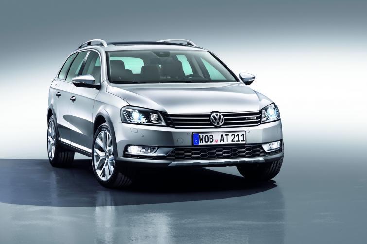 Volkswagen Passat Alltrack - połączenie kombi i SUV-a (ZDJĘCIA)