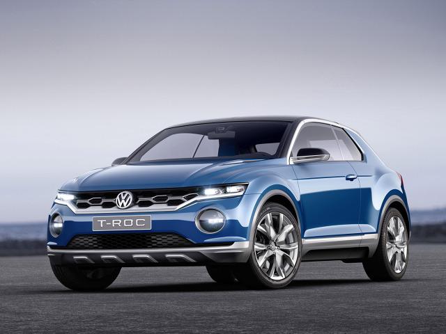 zdjęcie Volkswagen T-Roc Concept 2014