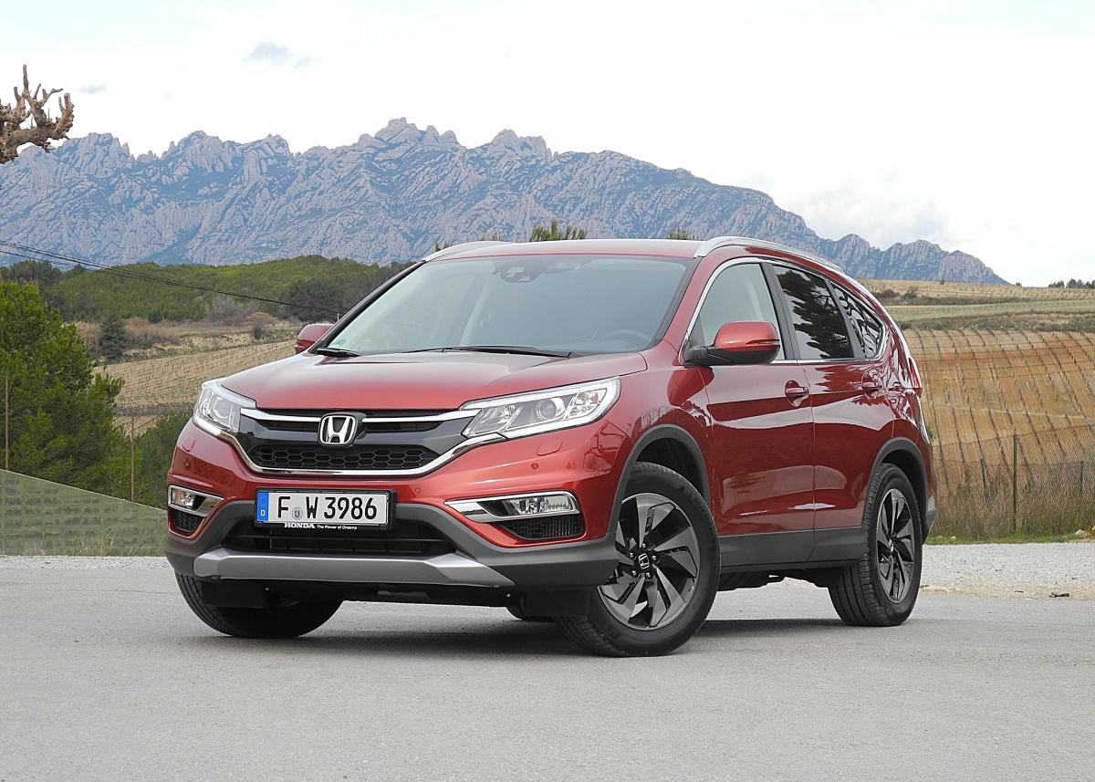 Honda cr v fot wojciech frelichowski