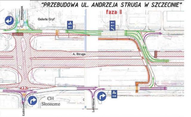 Szczecin: Wkrótce całkowicie zamkną ul. Struga. Zobacz mapę