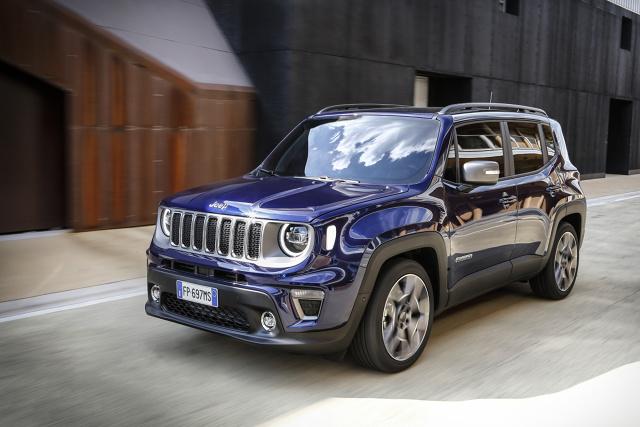 Jeep Renegade FL 2018. Terenówka z polskimi silnikami  Fot. Jeep