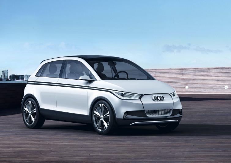 Nowe Audi A2 - elektryczny napęd i szklany dach