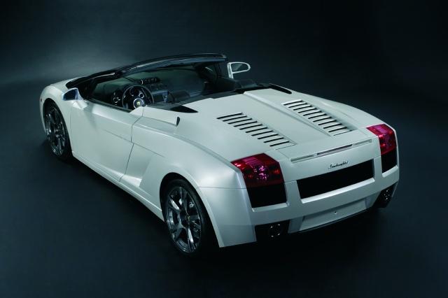 zdjęcie Lamborghini Gallardo Spyder