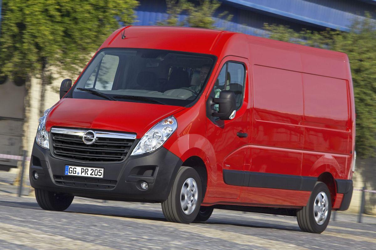 Opel Movano, fot.: Opel