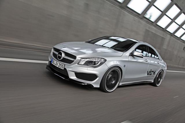 Mercedes-Benz CLA 250 Vath / Fot. Mercedes-Benz