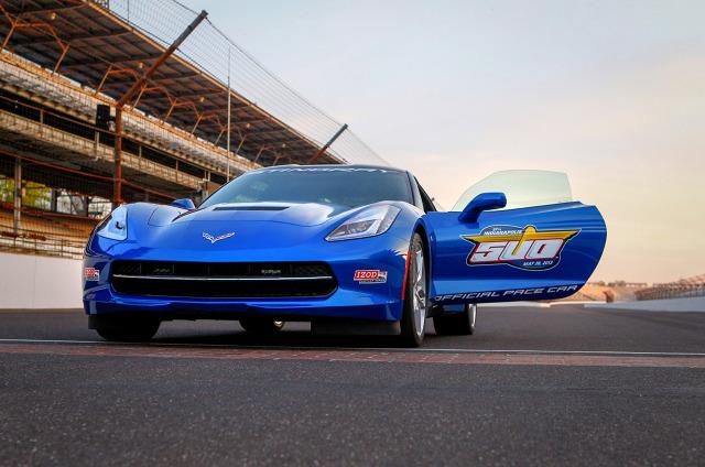 zdjęcie Chevrolet Corvette Stingray Pace Car
