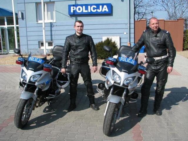 Hondy CBF1000A w opolskiej policji