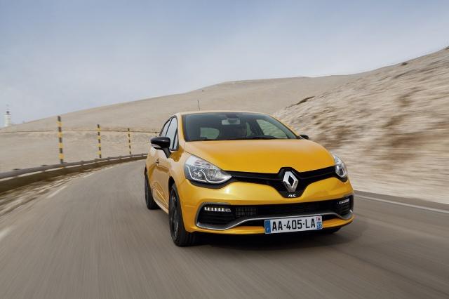 Renault Clio RS Fot: Jerzy Dyszy