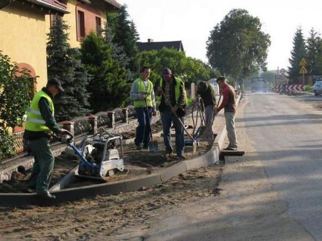 Prace przy ulicy Kaszubskiej w Miastku. Utrudnienia w ruchu