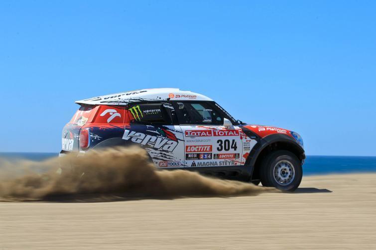 Rajd Dakar: pierwsze zwycięstwo Hołowczyca, już drugi w generalce