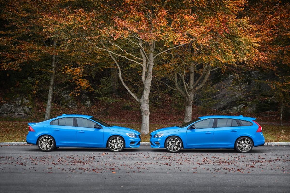 Volvo i Polestar wprowadza na rynek najszybszy model w historii – 367 konne modele Polestar S60 i V60. Limitowana seria tych aut trafi do Polski w drugiej połowie roku / Fot. Volvo