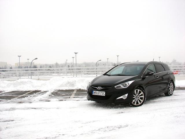 Hyundai i40 CW, Fot: Przemysław Pepla
