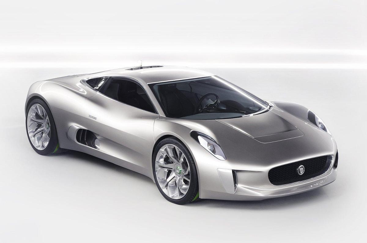 Jaguar C-X75 / Fot. Jaguar