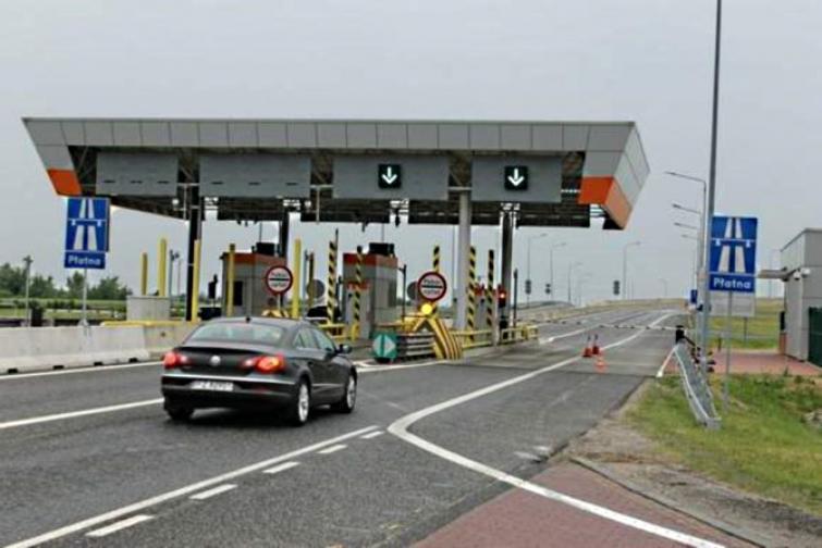 Bramki poboru opłat na autostradzie A4 pod Opolem