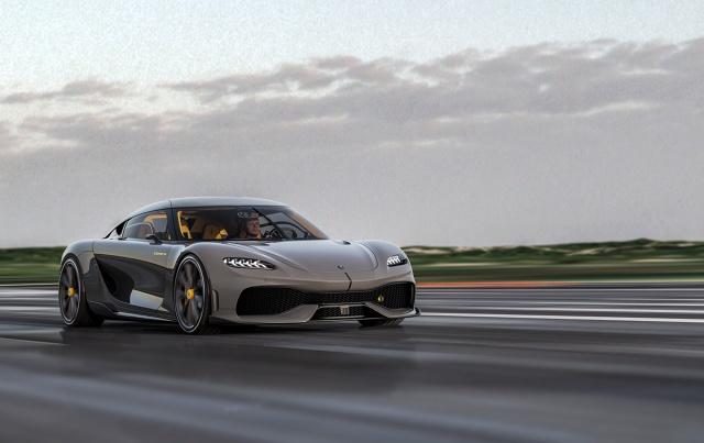 Koenigsegg Gemera ma nadwozie wykonane z włókna węglowego. Fot. Koenigsegg