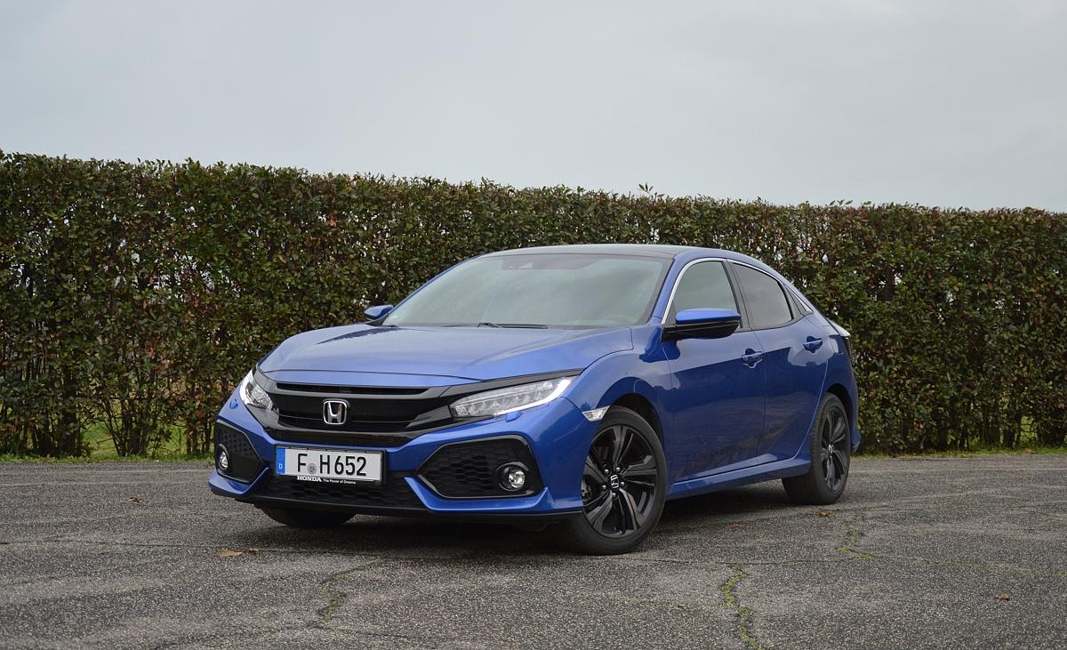 Honda Civic   Honda uzupełnia ofertę silnikową w modelu Civic o jednostkę wysokoprężną 1,6 o mocy 120 KM. W tej wersji auto na polskim rynku pojawi się wiosną.   Fot. Wojciech Frelichowski