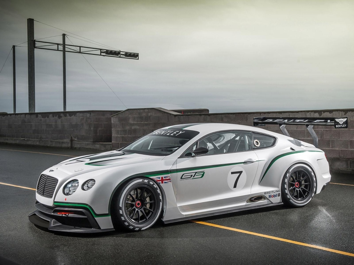 Bentley Continental GT3, fot.: Bentley