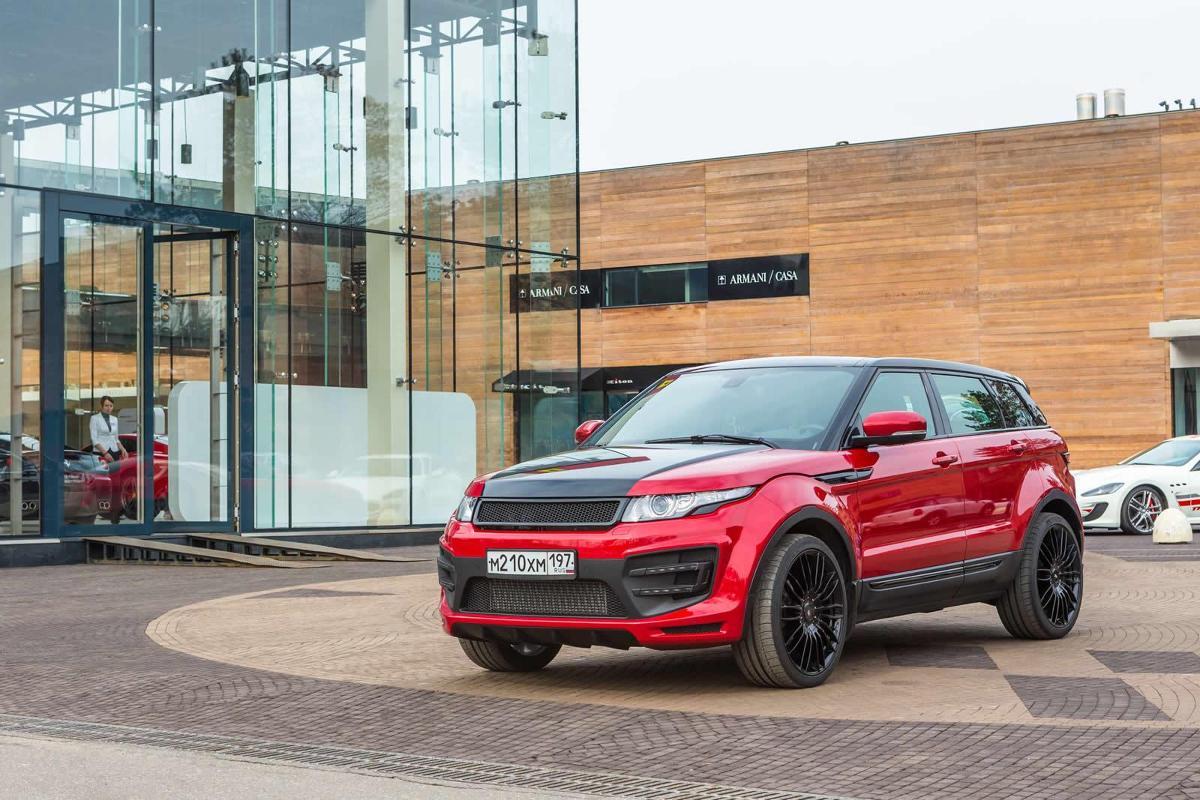 Range Rover Evoque  / Fot. LARTE Design