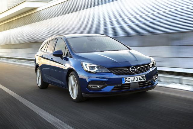 Opel Astra  Salon samochodowy we Frankfurcie (dni prasowe: 10–11 września; dni dla publiczności: 12–22 września) to miejsce debiutu nowego Opla Corsy, hybrydowego Grandlanda X oraz nowej Astry.   Fot. Opel