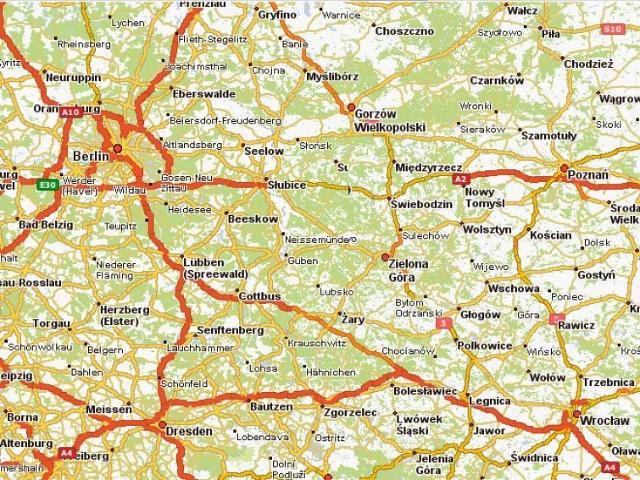 Darmowe mapy Europy w Internecie - zaplanuj trasę