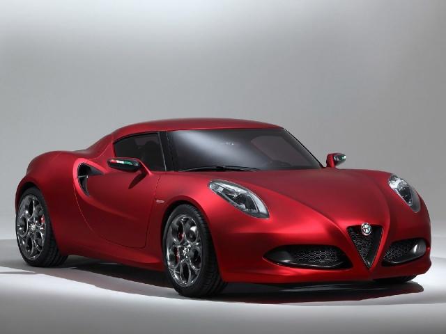 zdjęcie Alfa Romeo 4C Concept