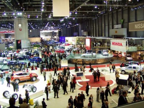 Fot. R.Polit: Salon Samochodowy w Genewie świętuje swoje 100-lecie. To piękny wiek.