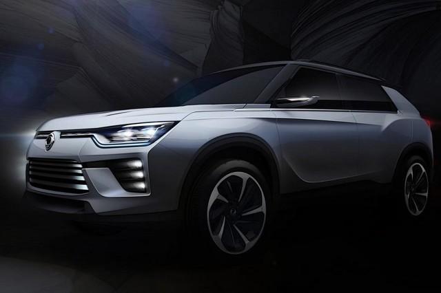 W sprzedaży samochodu możemy spodziewać się w 2018 roku i zostanie umiejscowiony w gamie powyżej modelu Tivoli / Fot. SsangYong