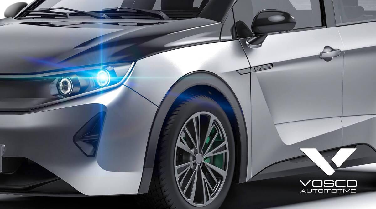 Już w październiku ma zadebiutować krajowy samochód elektryczny Vosco EV2, popularnie nazywany Syreną z Kutna. Syren z Kutna już trochę widzieliśmy, ale ta ma być wyjątkowa... Fot. Vosco Automotive