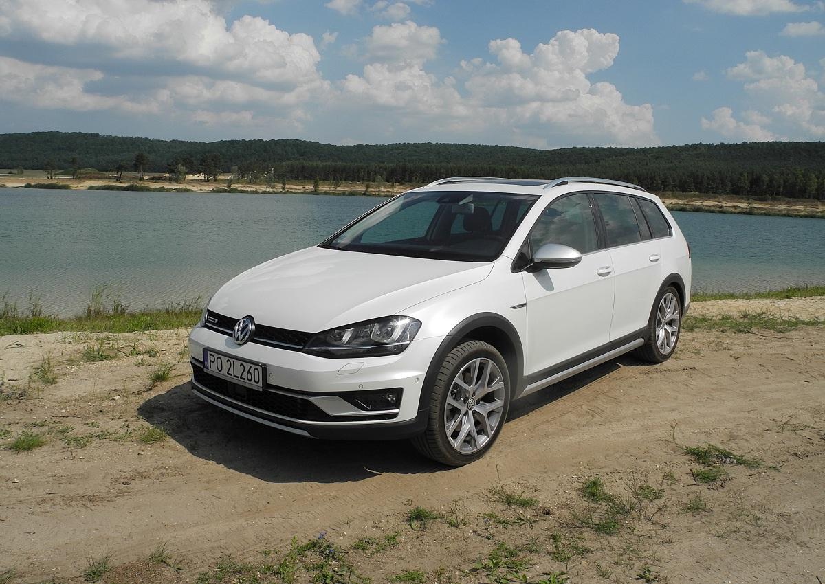 Volkswagen Golf Alltrack / Fot. Wojciech Frelichowski