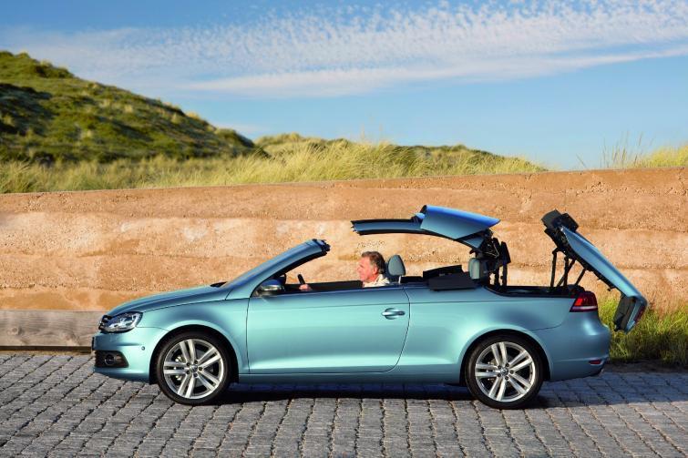 Odświeżony Volkswagen Eos - niecałych pięć litrów na setkę