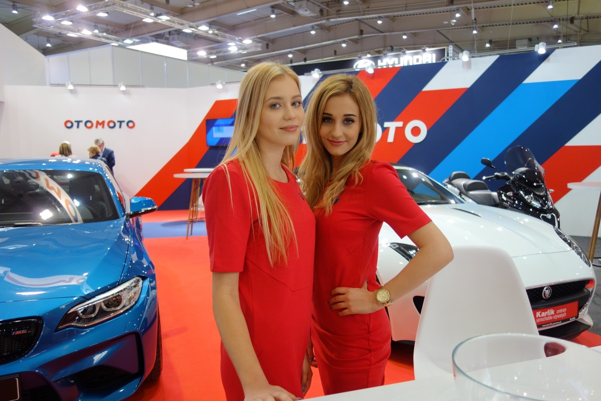 Poznań Motor Show 2018   Na salonie w Genewie wielu producentów zrezygnowało z hostess na swoich stoiskach. Wbrew wcześniejszym obawom, na Poznań Motor Show 2018, obok motoryzacyjnych premier można zobaczyć wiele modelek.   Fot. Ryszard M. Perczak
