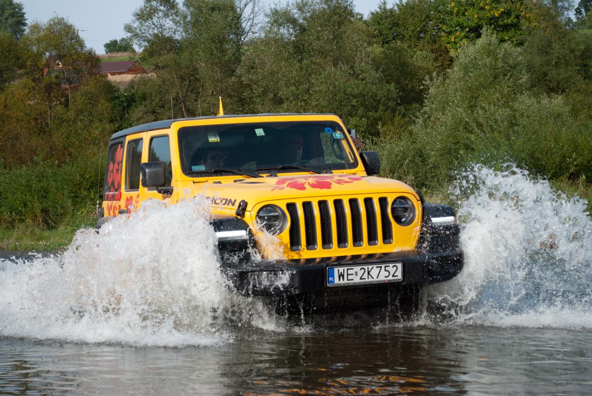Ponad 130 Jeepów i ponad 400 Jeepersów celebrowało 80. urodziny marki Jeep podczas czterech dni pełnych wrażeń. Fot. Jeep
