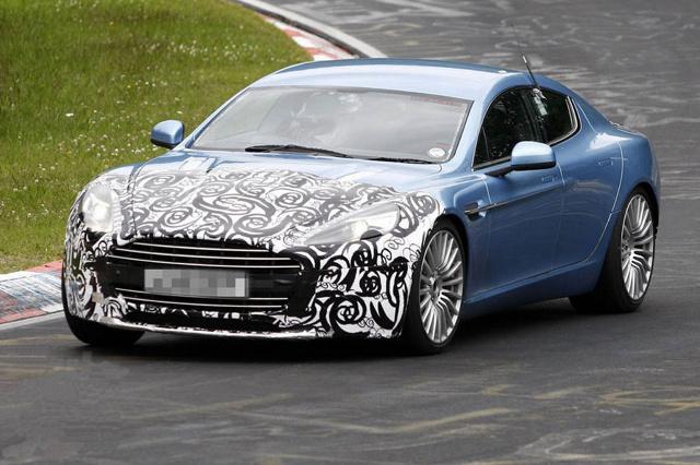 Aston Martin Rapide S Jeszcze W 2012 Roku Fot