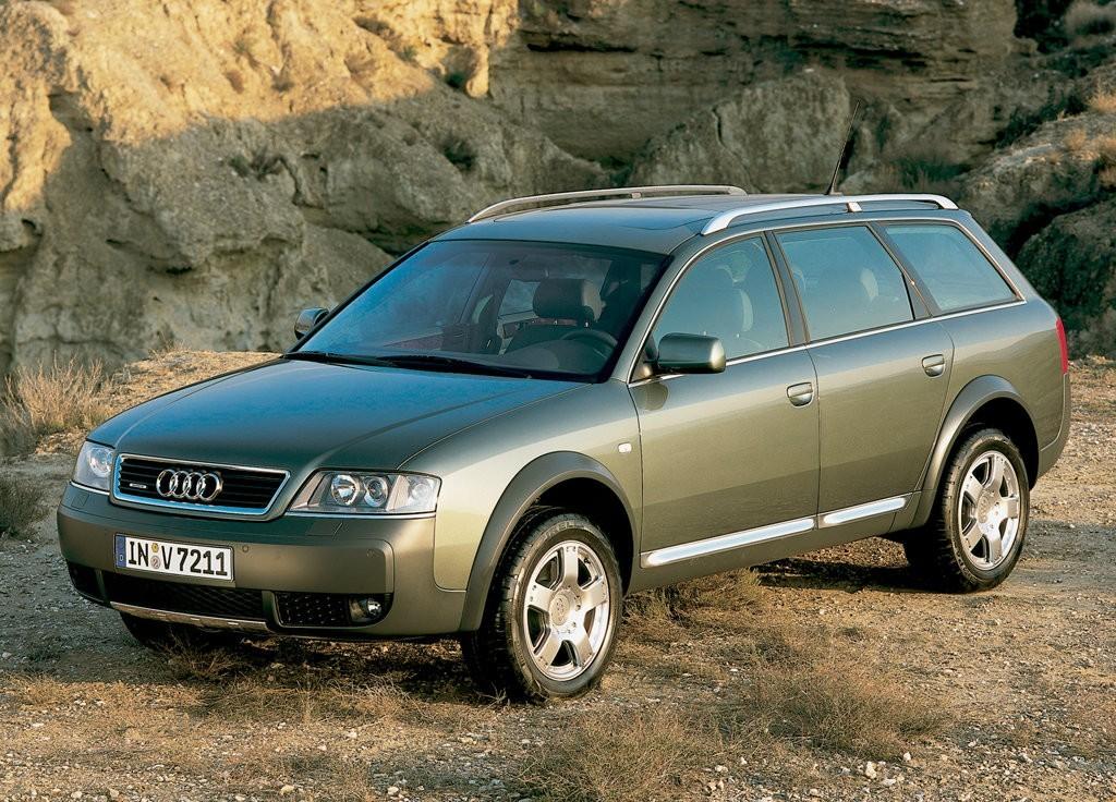 Audi Allroad Quattro 1999 2005 Uterenowione A6 W Wersji Kombi