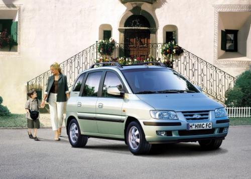 Fot. Hyundai: Hyundai Matrix został zbudowany na płycie podłogowej modelu Elantra. Nadwozie Matrixa zaprojektowała słynna firma stylistyczna Pininfarina.