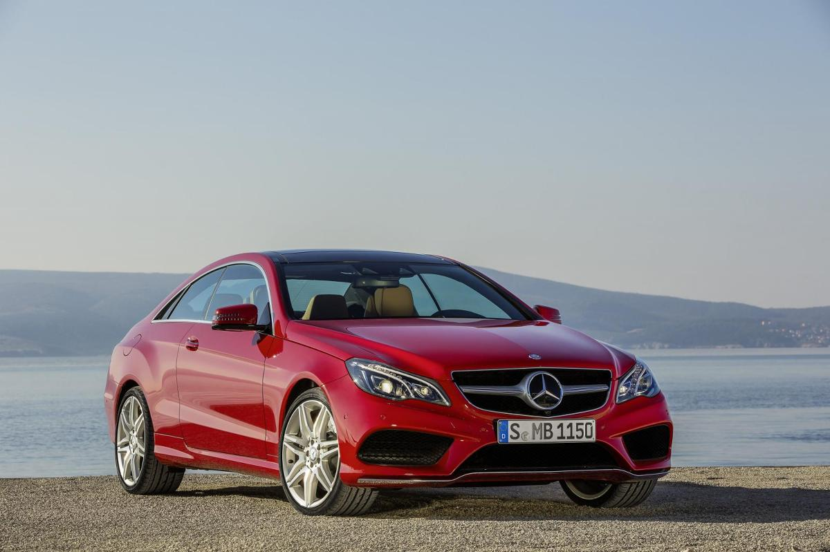 Mercedes-Benz E-Class Coupe / Fot. Mercedes-Benz