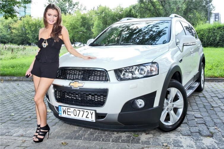 Marta Krupa lubi Chevroleta
