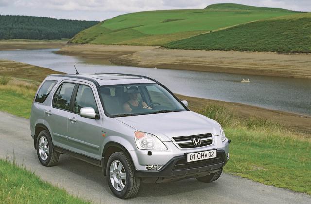 Honda CR-V (2001-2005) Fot: Honda