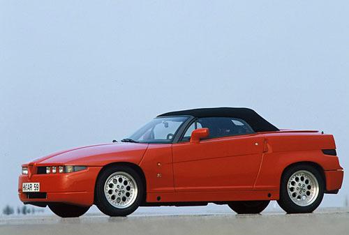 zdjęcie Alfa Romeo Roadster Zagato