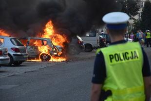 Pożar auta. Ile samochodów każdego dnia płonie w Polsce?