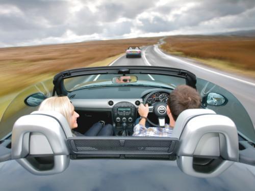 Jazda Samochodem Po Drogach Wielkiej Brytanii