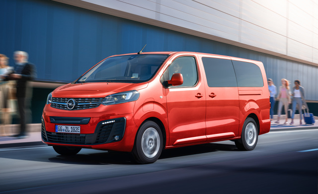 Opel Zafira-e Life  Zafira-e Life jest dostępna w Polsce w cenie katalogowej od 208 550 zł brutto  Fot. Opel