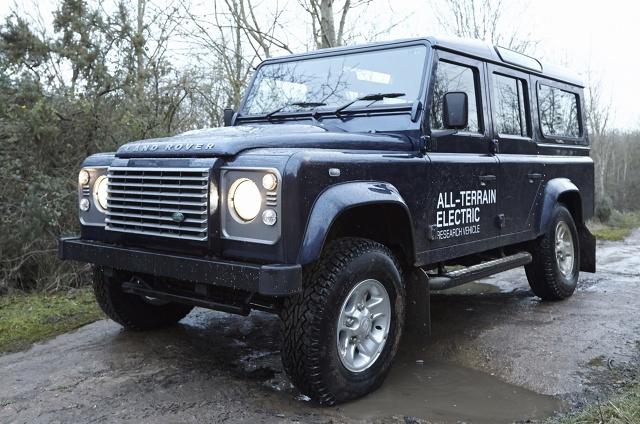 zdjęcie Land Rover Defender EV