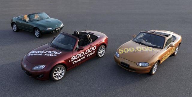 Mazda MX-5 – wyprodukowano ich aż 900 tys.