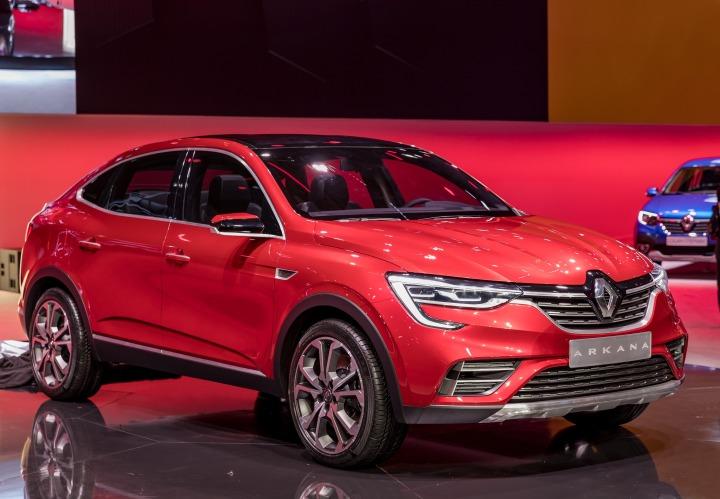 Renault Arkana   Nowy model będzie produkowany i sprzedawany w wielu krajach świata, w pierwszej kolejności w Rosji już w 2019 roku. W dalszej kolejności Renault Arkana ma być produkowane i dystrybuowane na terenie Azji i w innych częściach świata.  Fot. Renault