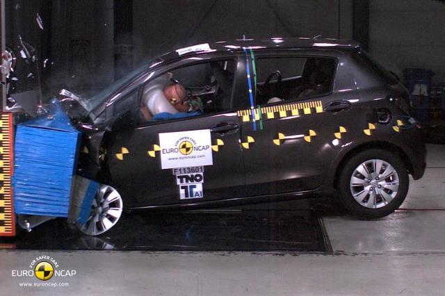 Wyniki testów zderzeniowych Euro NCAP - w tym Toyota Yaris